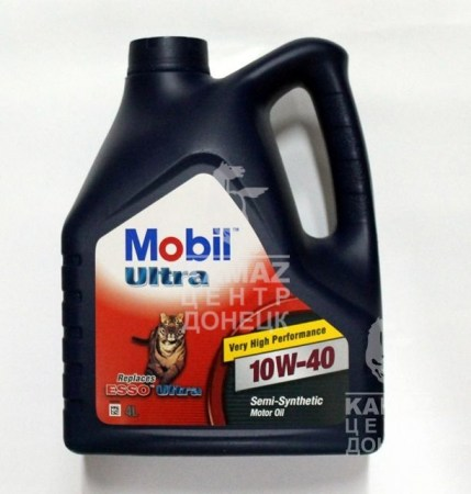Масло MOBIL ULTRA 10W40 4л